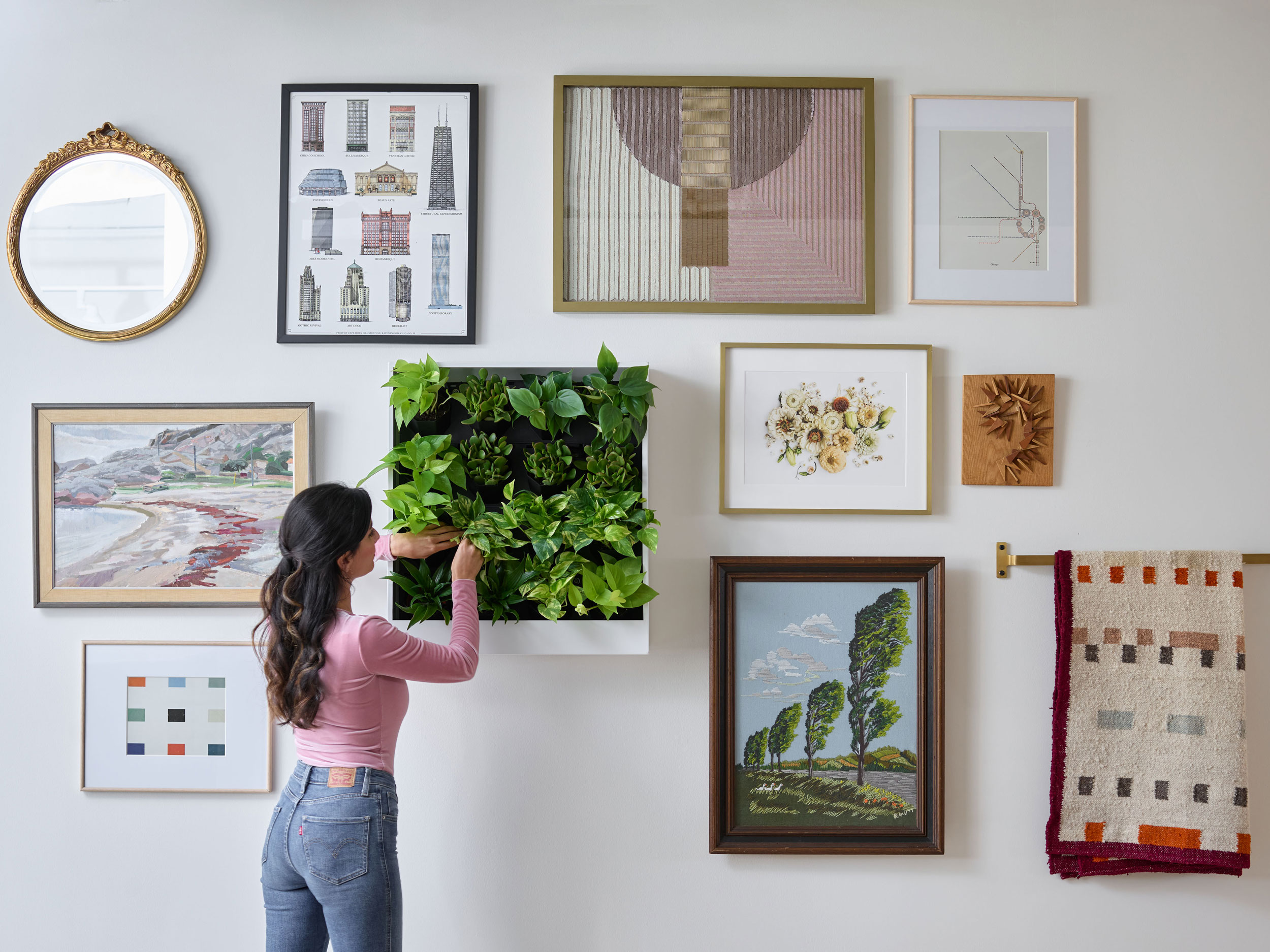 Grow Up Gallery Wall