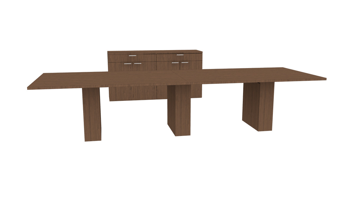 OFS Intermix Conference QuickShip Product - Series a conference table