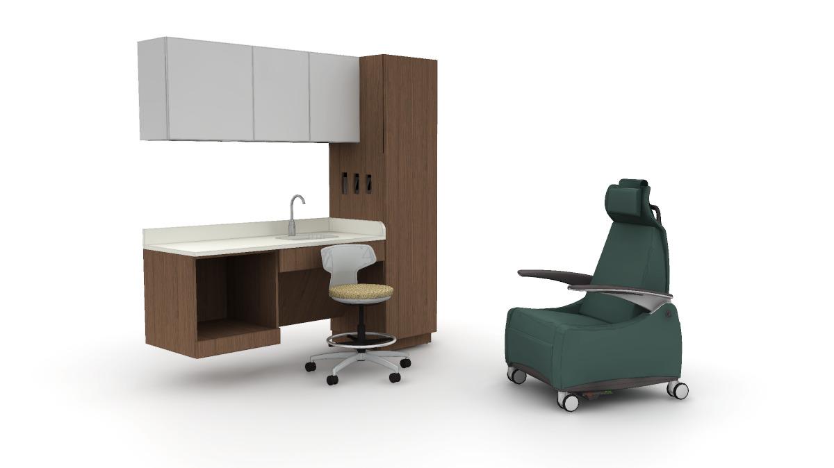Lasata, Mile Marker, and Stray physician's stool