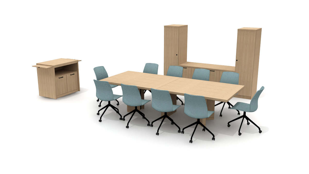Harpin and Meeting Room