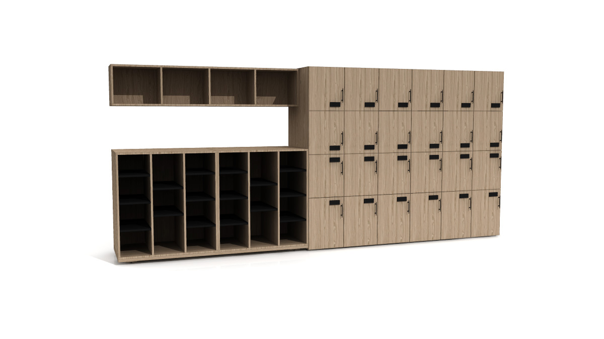Intermix storage