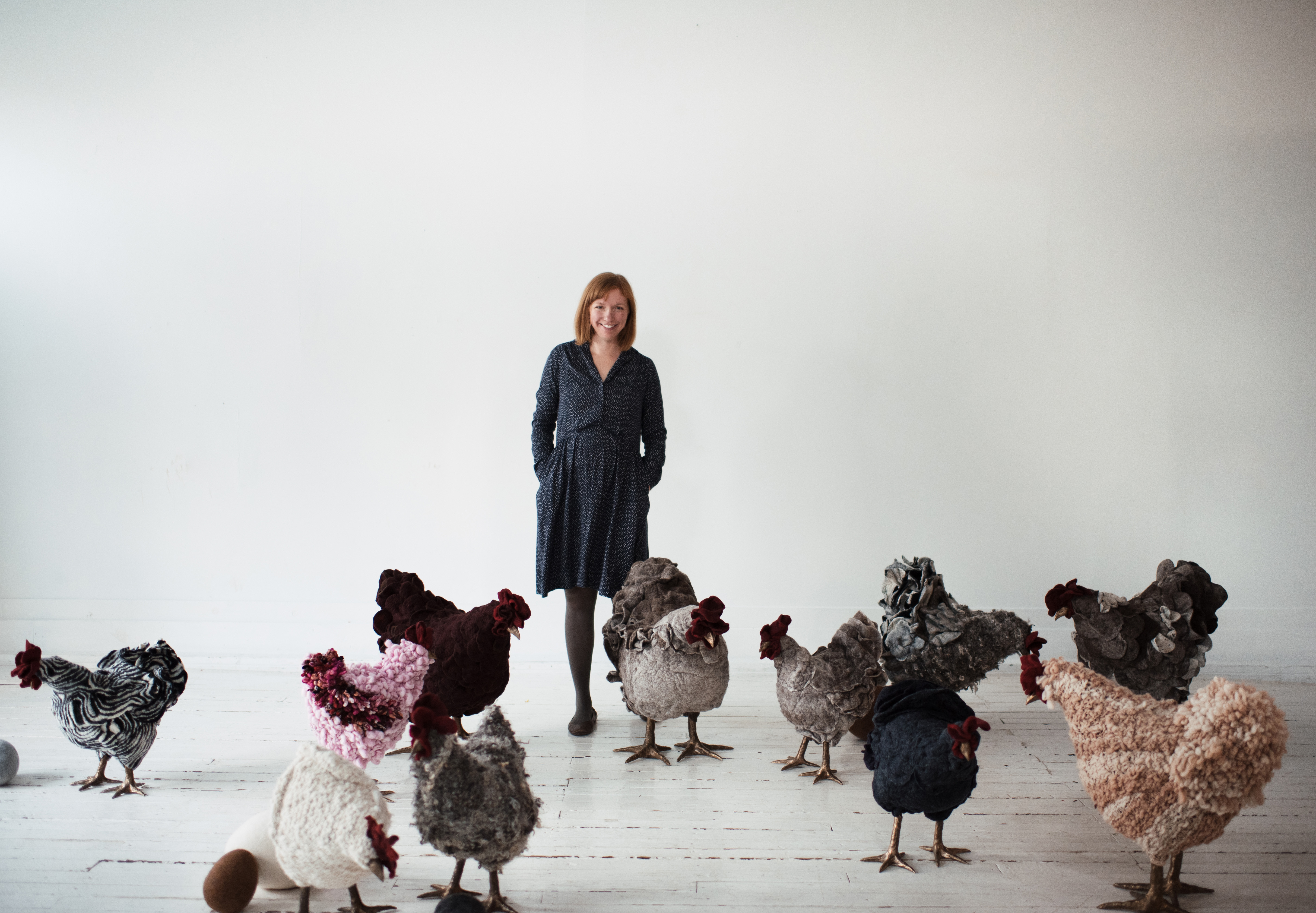 Sally and her chickens