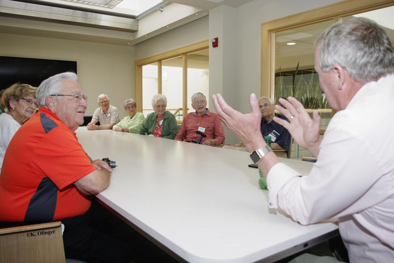 NASA engineers visit OFS
