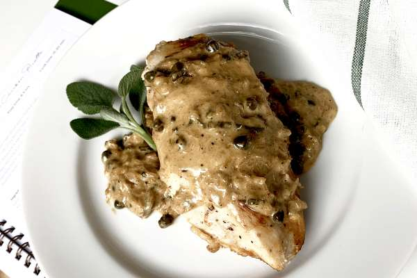 Autumn Chicken Picatta