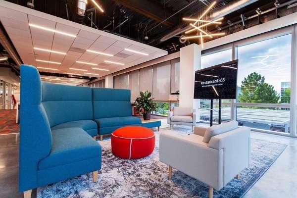 Workplace collaborative area