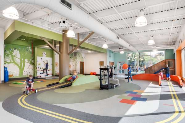 Physical Therapy and Occupational children's hospital play area