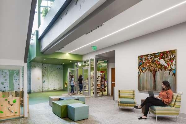 Anna Shaw Children's Institute lobby waiting area