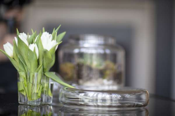 Flowers and design details from Chris Heard's home