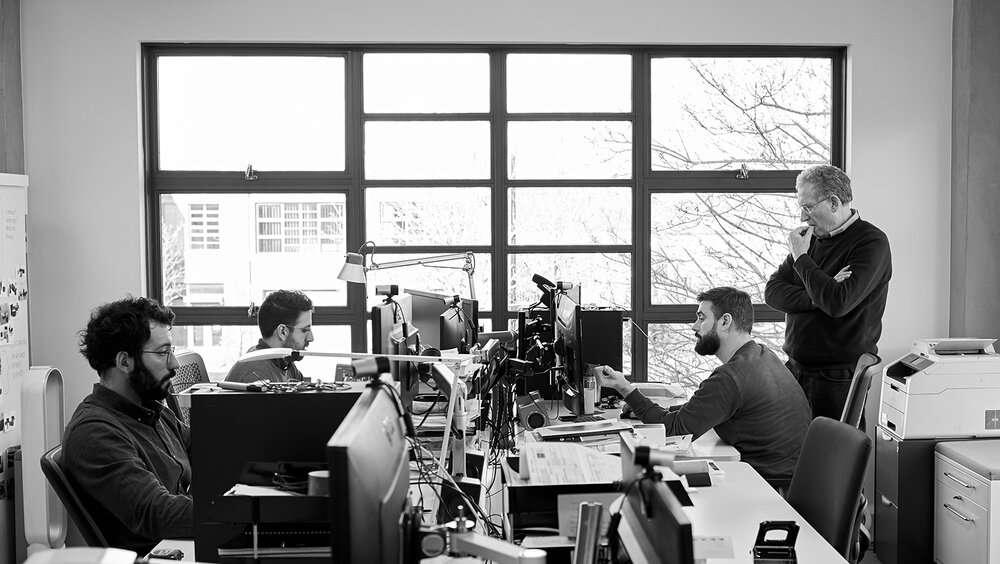 Webb Associates design office in London