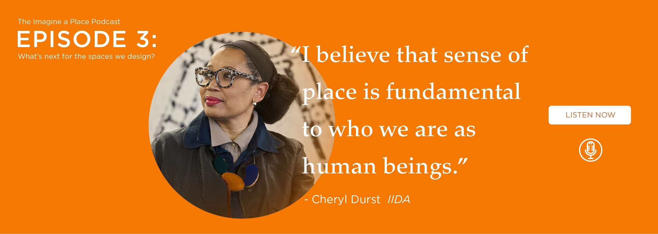 Cheryl Durst (IIDA): What's next for the spaces we design? - Ep.03