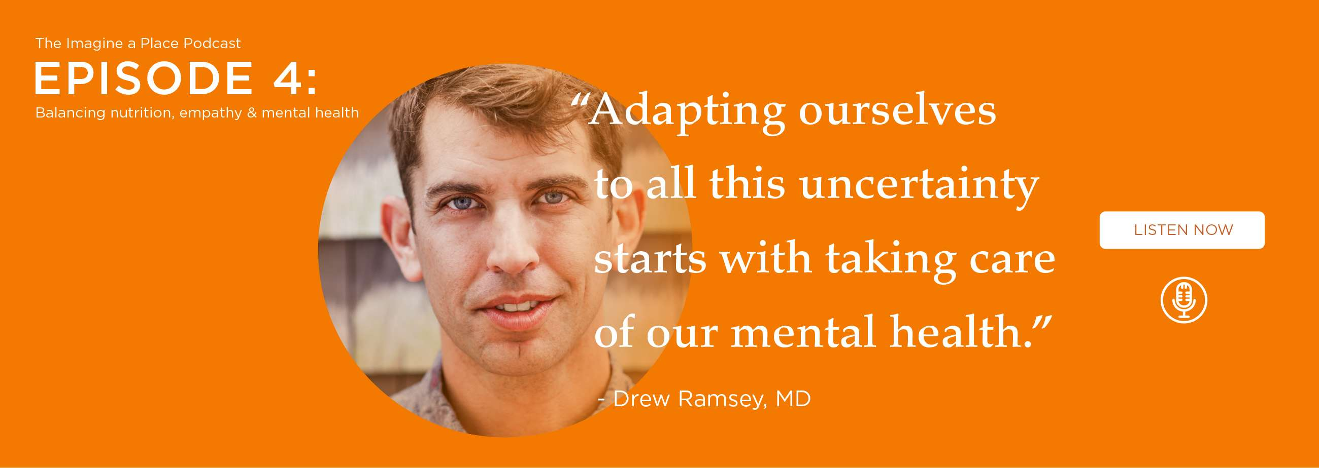 Dr. Drew Ramsey, MD (Eat Complete): Balancing nutrition, empathy, and mental health. - Ep. 04