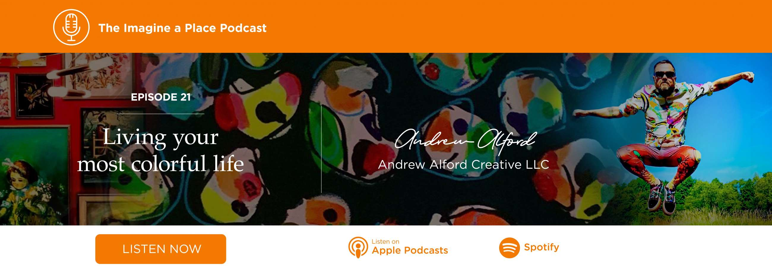 Imagine a Place Podcast with Andrew Alford