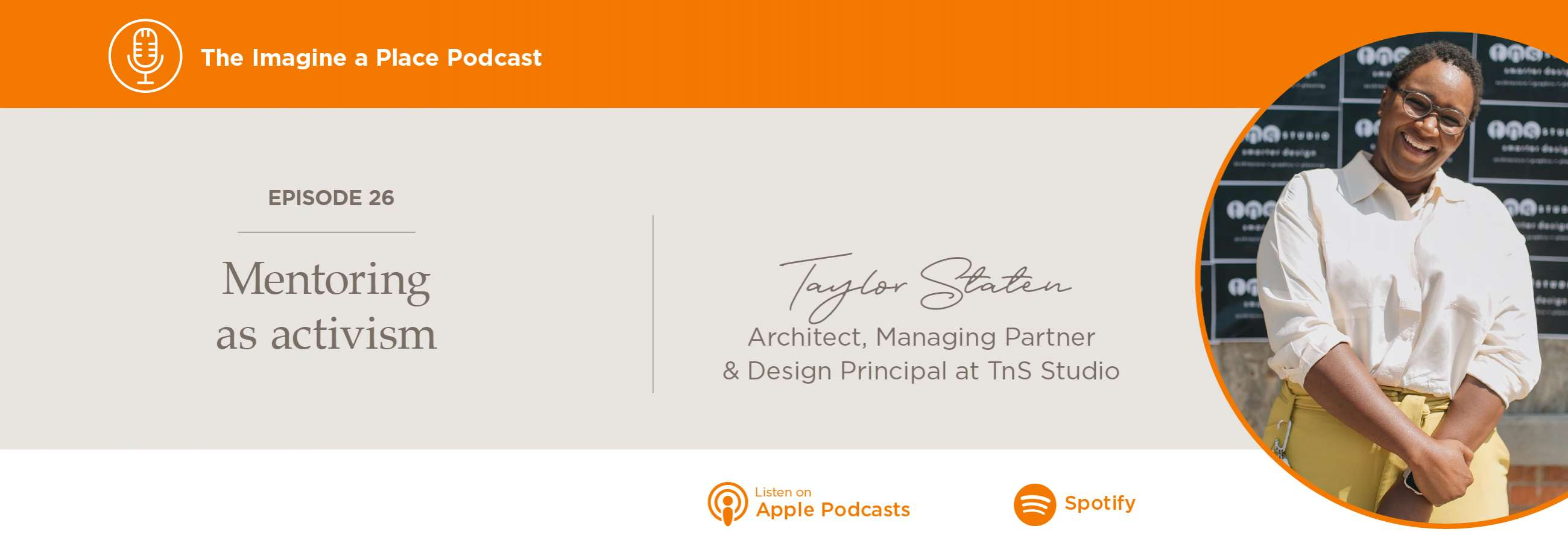 Imagine a Place Podcast with Taylor Staten of TnS Studios