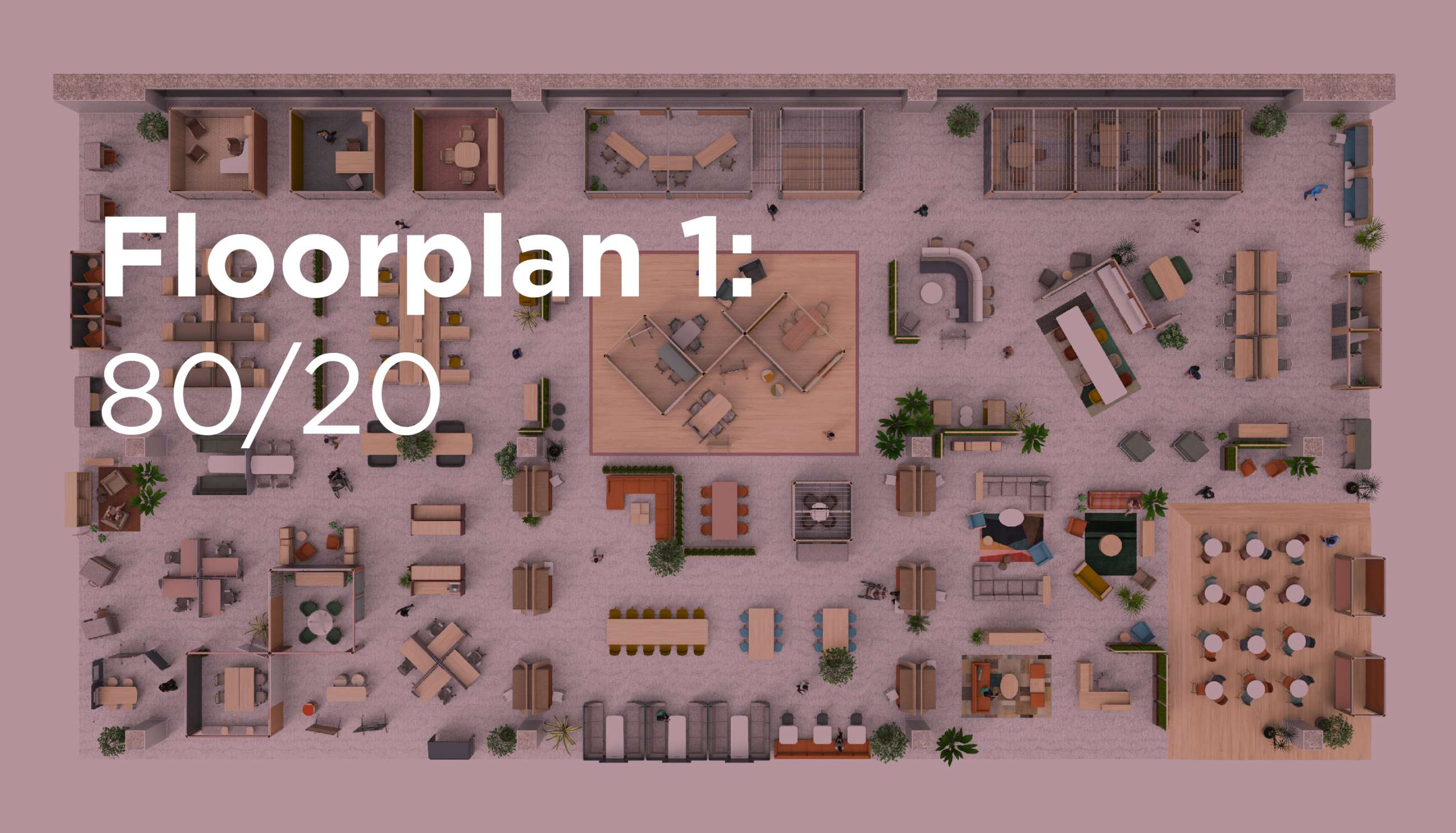 Floorplan 1: 80/20