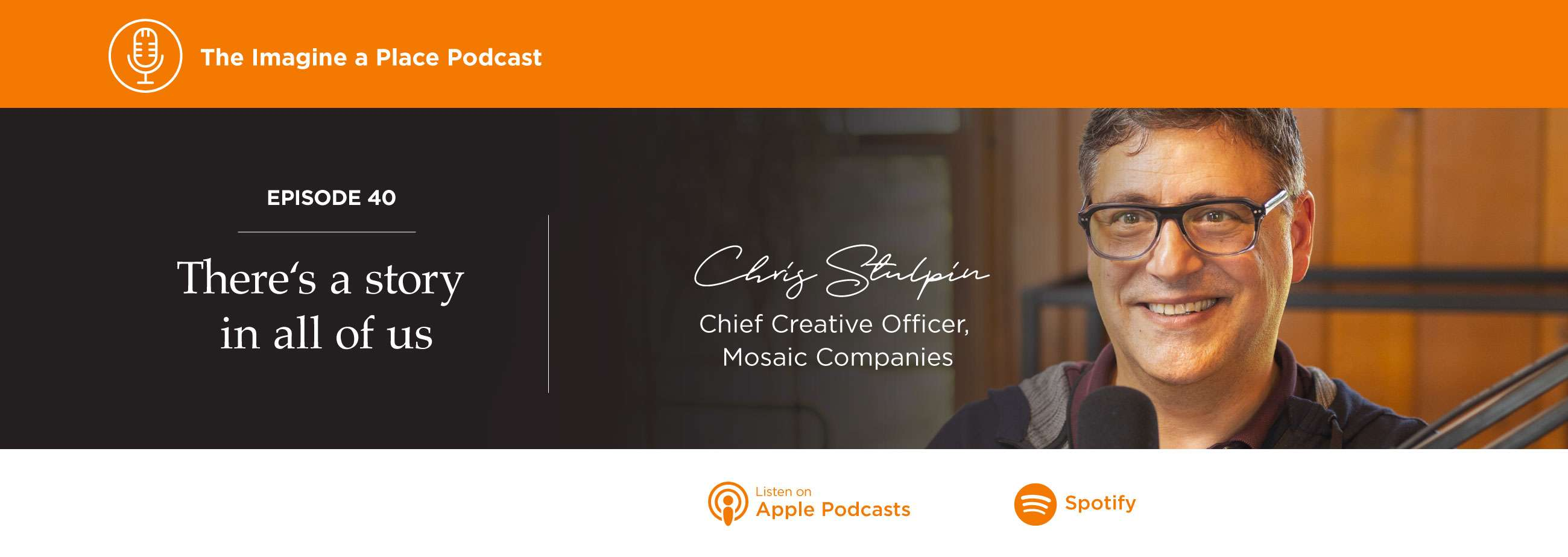 Imagine a Place Podcast with Chris Stulpin