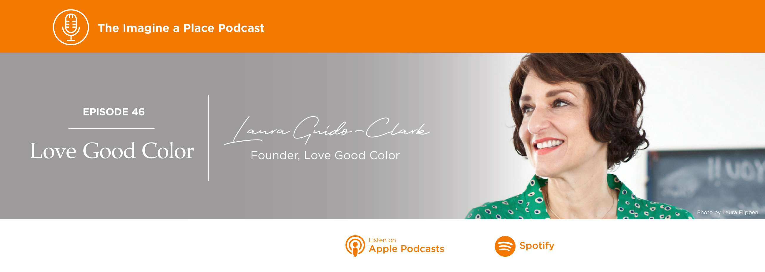 Laura Guido Clark on the Imagine a Place podcast