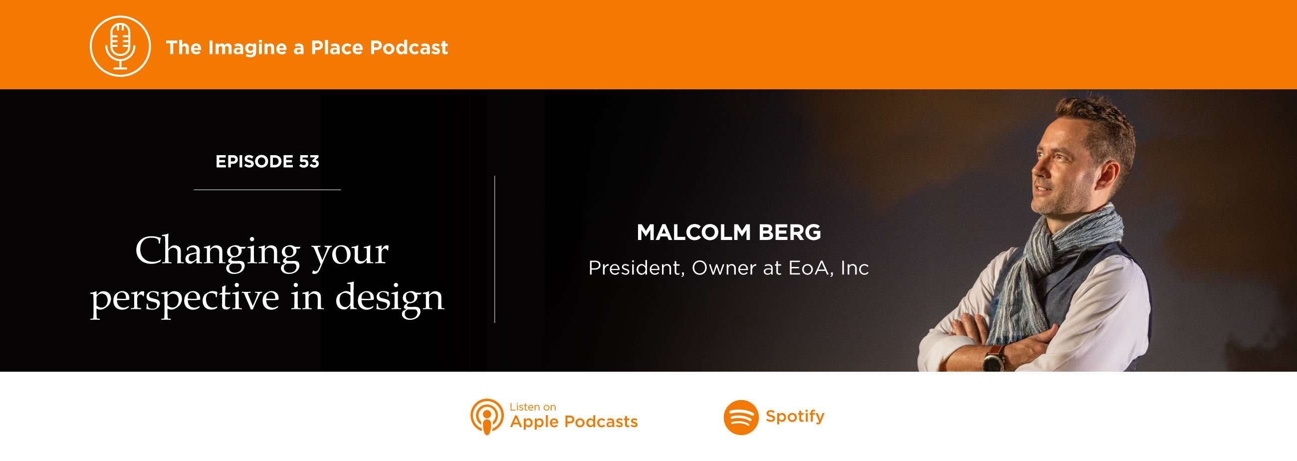 Imagine a Place Podcast with Malcolm Berg of EOA Group Miami