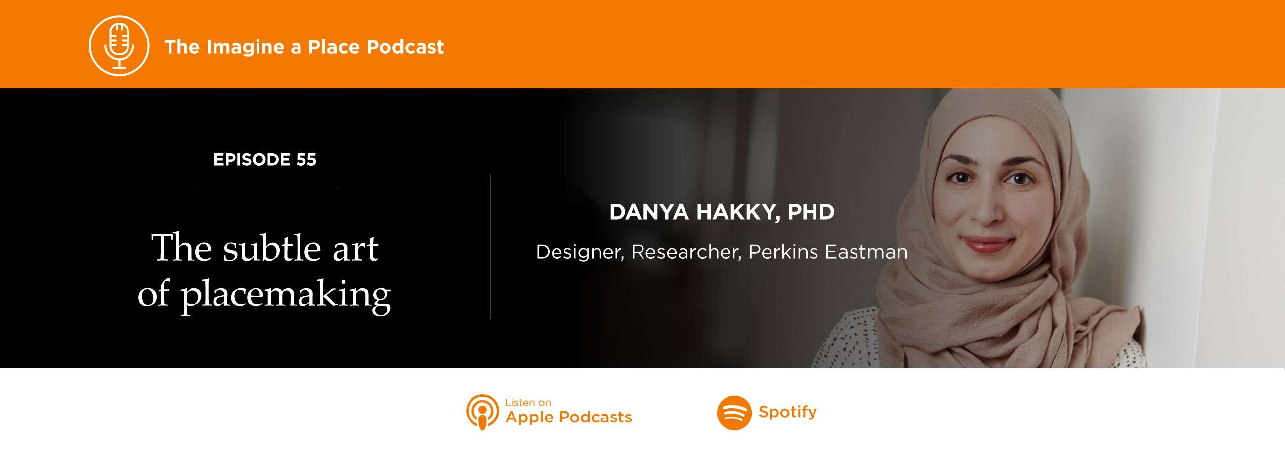 Danya Hakky of Perkins Eastman on the Imagine a Place podcast