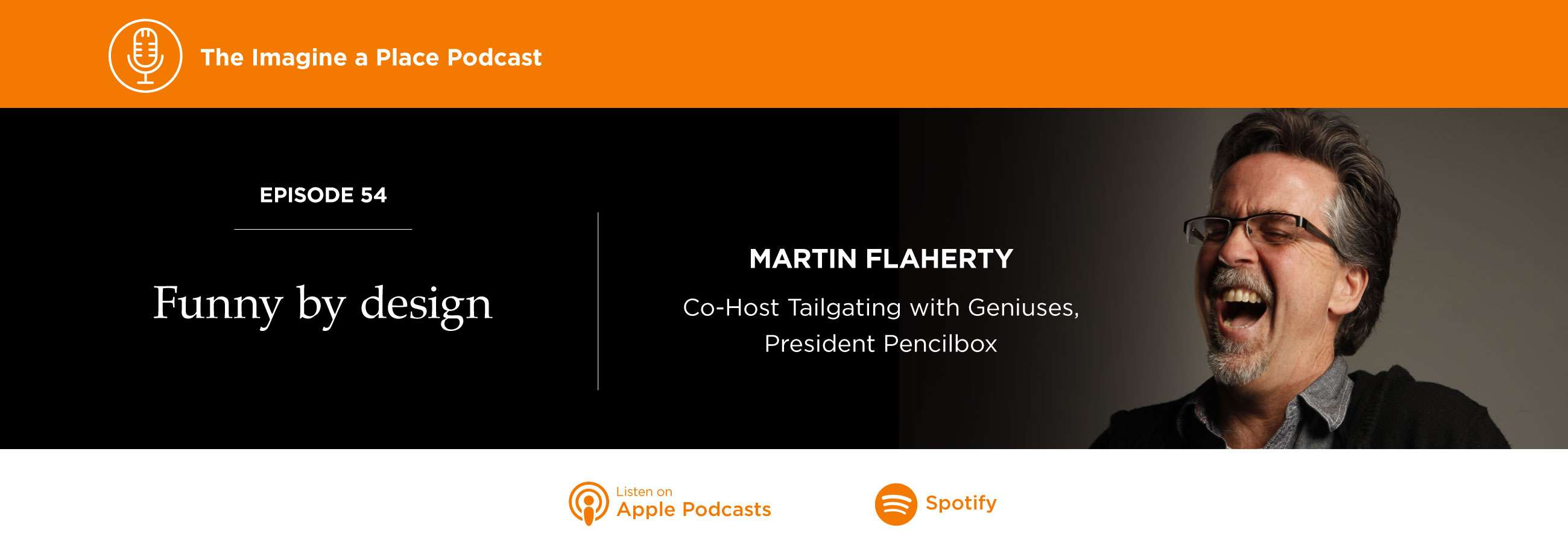 Martin Flaherty of Pencilbox on Imagine a Place podcast