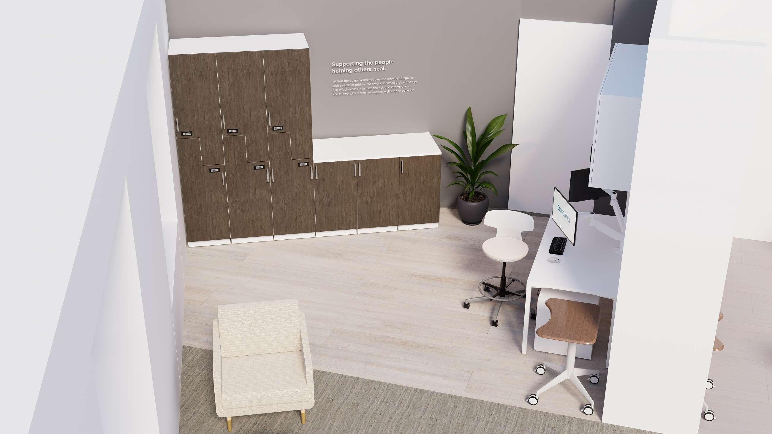Caregiver spaces