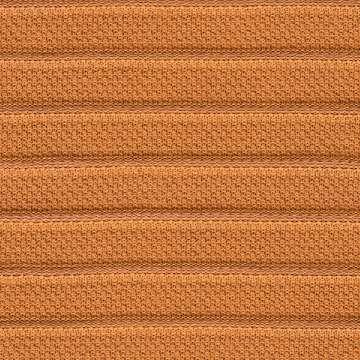 Orange Knit